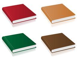 Bücher-Vektor-Illustration