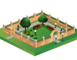 Städtischer Garten