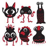 Monster Charakter Sammlung Design