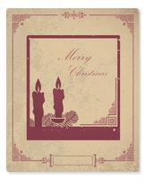 Weihnachtskarte vektor