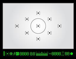 Foto Sucher Abbildung vektor