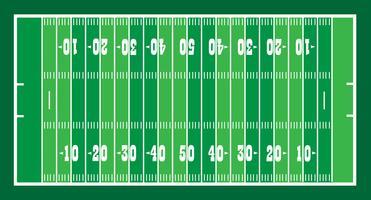 Feld für amerikanisches Fußballspiel