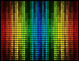 abstrakte mehrfarbige grafische Equalizer-Vektor-Illustration vektor