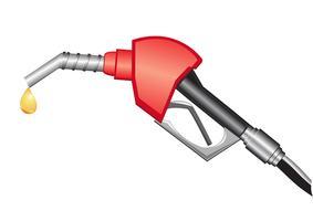gaspumpmunstycke vektor