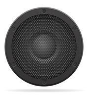 akustisk högtalare vektor illustration