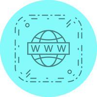 Websökning Ikondesign vektor