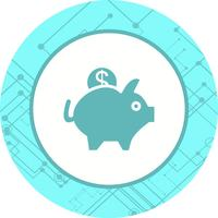 Sparschwein-Icon-Design