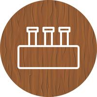Chemie Set Icon Design