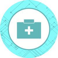 Erste-Hilfe-Kasten-Icon-Design