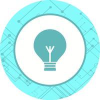 glödlampa ikon design