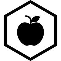 Apfel-Icon-Design