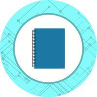 spiral notebook ikon design