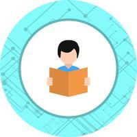 Läser ikondesign