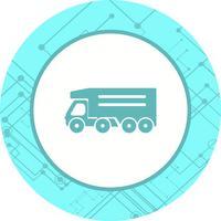 Kipper-LKW-Ikonendesign