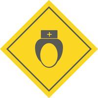 Sjuksköterska Icon Design