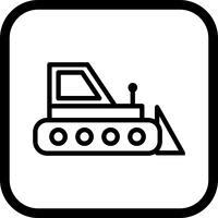 bulldozer ikon design