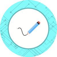 Icon-Design schreiben vektor
