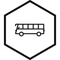 Bus-Icon-Design vektor
