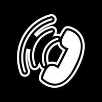 Aktiver Anruf-Icon-Design vektor