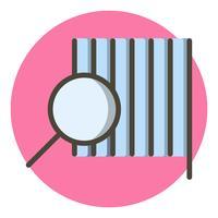 Produkt-Icon-Design finden vektor