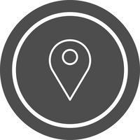 Standort-Icon-Design vektor