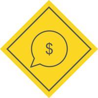 Geld-Icon-Design senden vektor