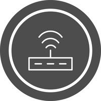 Router-Icon-Design vektor