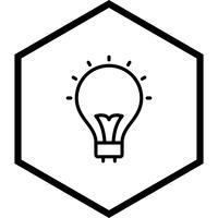 glödlampa ikon design vektor
