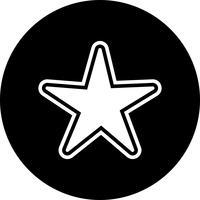 stjärna ikon design