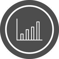Statistik Ikon Design vektor