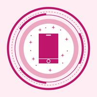 intelligentes Geräte-Icon-Design
