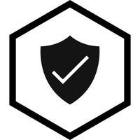 sköld ikon design vektor