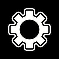 Inställningar Ikon Design vektor