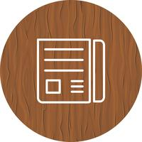 Nachrichtenpapier-Ikonendesign