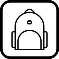 bagpack ikon design