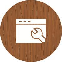 webbläsarinställningar ikon design