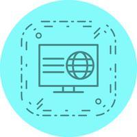 Webbsida Icon Design vektor