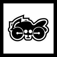 Schweres Fahrrad Icon Design