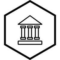 Pädagogisches Institut Icon Design vektor