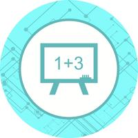 Matematik Icon Design vektor