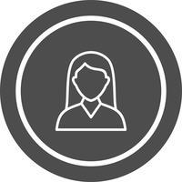Studentin Icon Design