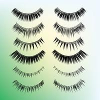 False Wimpern Styles Pack