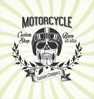 Vintage Motorrad Hintergrund