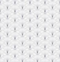 Nahtlose Blümchenmuster Geometrische Verzierung der abstrakten Fächerform vektor
