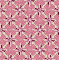Abstraktes orientalisches Fliesenmuster. Geometrische Verzierung vektor