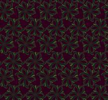 Abstraktes orientalisches nahtloses mit Blumenmuster. Blumenornamenthintergrund. vektor