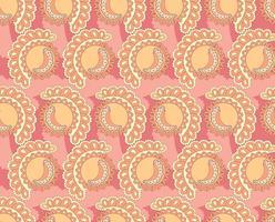 Abstrakt orientaliskt kakelmönster. Geometrisk prydnad vektor