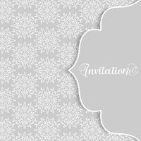 Elegant dekorativt mönster bakgrund vektor
