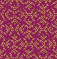 Blommigt sömlöst mönster. Brocade retro prydnad. Blommande lämnar bakgrund