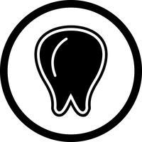 Zahn-Icon-Design vektor